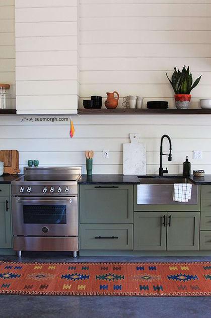 ست کردن لوازم آشپزخانه نقره ای - عکس شماره 5