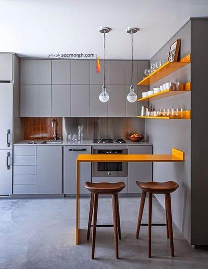 ست کردن لوازم آشپزخانه نقره ای - عکس شماره 6