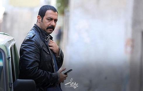 کامران تفتی در نقش حنیف سریال برادر جان