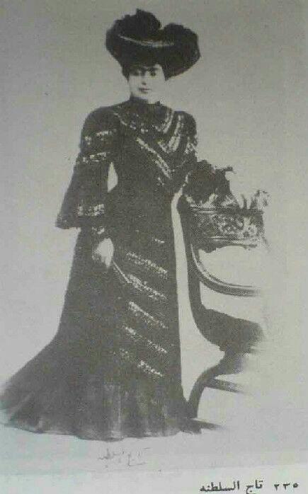 عکس تاجالسلطنه، دختر ناصرالدین شاه