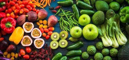 چگونه 1 ماهه 3 کیلو لاغر شویم؟,میوه و سبزیجات : همیشه و همه جا