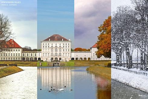 عکس چهار فصل,تصویر 4 فصل,عکس هنری زیبا