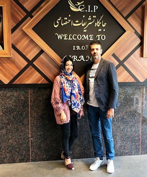 همسر استراماچونی در ایران