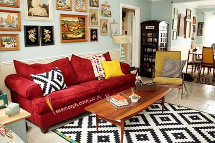 انتخاب پارچه رومبلی بر اساس طرح و رنگ,پارچه مناسب مبل های راحتی - عکس شماره 1