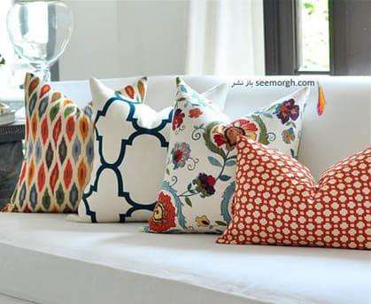 انتخاب پارچه رومبلی بر اساس طرح و رنگ,پارچه مناسب مبل های راحتی - عکس شماره 2