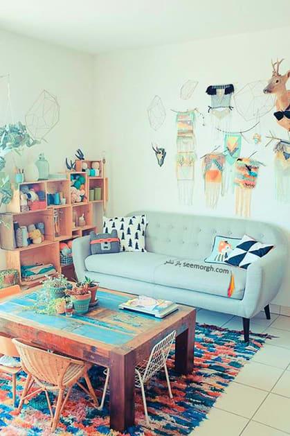 انتخاب پارچه رومبلی بر اساس طرح و رنگ,پارچه مناسب مبل های راحتی - عکس شماره 3