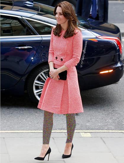 کت و دامن طرح دار به سبک کیت میدلتون Kate Middleton,کت و دامن,کیت میدلتون,مدل کت و دامن,کت و دامن کیت میدلتون,مدل کت و دامن به سبک کیت میدلتون