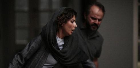لیلا حاتمی و علی مصفا در مردی بدون سایه
