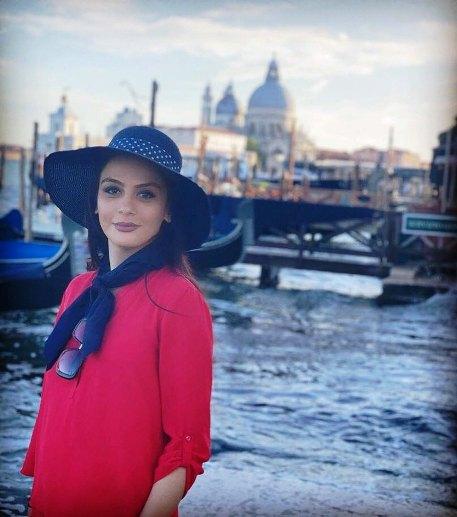 مارال فرجاد در ونیز ایتالیا