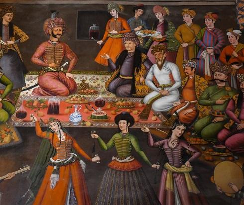 سفره داری و مهمانپذیری دربار صفوی,دربار چی می خورد,شاه چطور غذا می خورد,شاه چی می خورد,مهمانی دربار چطور بود