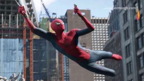 اسپایدرمن,مرد عنکبوتی,تام هالند,لباس مرد عنکبوتی,لباس اسپایدرمن