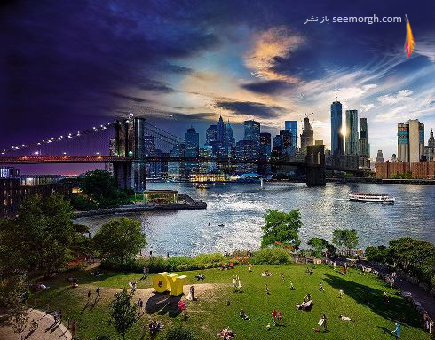 عکاسی,نیویورک,عکاسی مناظر,روز تا شب,استفان وایک,Stephen Wilkes