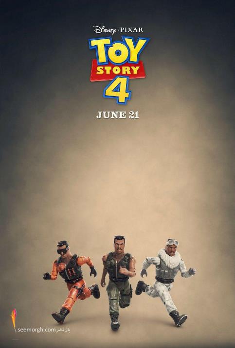 جدیدترین پوسترهای داستان اسباب بازی ۴