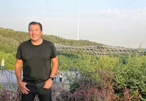 مارک ویلموتس در پل طبیعت