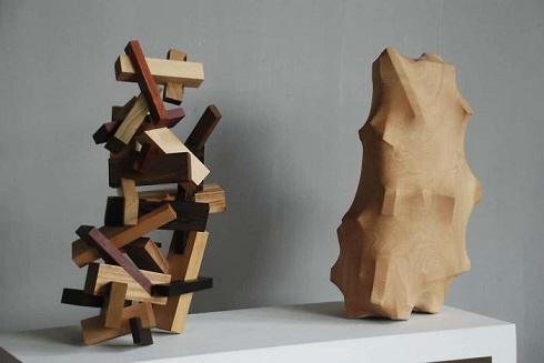 مجسمه مفهومی,مجسمه هنری,مجسمه چوبی,مجسمه زیبا