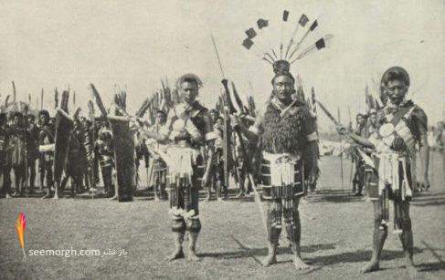 قبایل وحشی,شکارچی سر,تمدن باستانی,جنگجویان وحشی,قبیله های بدوی,مردم ناگا