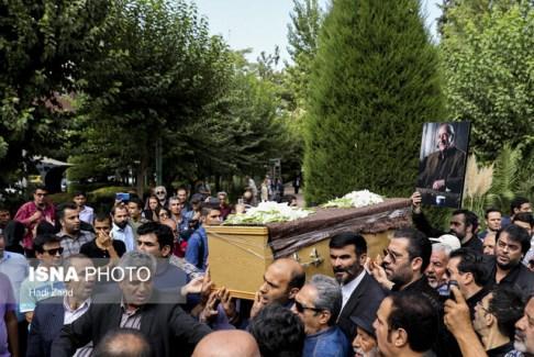 داریوش اسدزاده,تشییع داریوش اسدزاده,تشییع جنازه,تدفین,مجلس ترحیم
