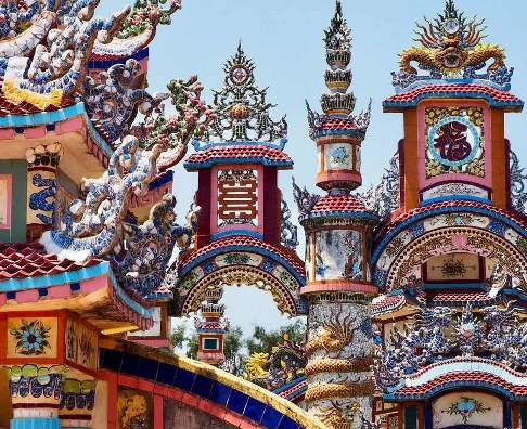 ویتنام,شهر ارواح,دهکده ارواح,قبرستان,An Bang