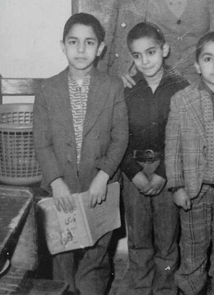 عکس مهران مدیری در کودکی