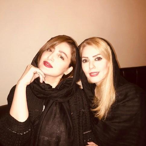 عکس جدید شیلا خداداد و دختر خاله اش