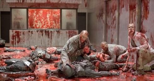 فیلم ترسناک,پایان فیلم,پایان شوکه کننده فیلم,مرگ شخصیت های فیلم,فیلم خارجی, کلبه ای در جنگل
