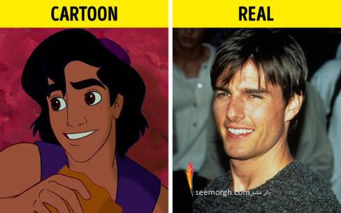 شخصیت کارتونی,انیمیشن,کارتون های معروف,داستان انیمیشن,علاءالدین,تام کروز
