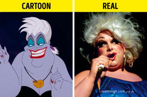 شخصیت کارتونی,انیمیشن,کارتون های معروف,داستان انیمیشن, پری دریایی