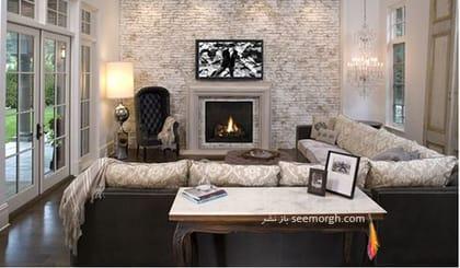 دیوار آجرنما را با رنگ سفید بپوشانید,پنهان کردن نواقص و ایرادهای دیوار با 12 پیشنهاد ارزان قیمت!