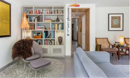با قفسه کتاب یا گنجه دریچه هوا را بپوشانید,پنهان کردن نواقص و ایرادهای دیوار با 12 پیشنهاد ارزان قیمت!