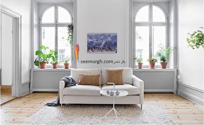 آویزان کردن یک اثر هنری از بیرون زدگی روی دیوار,پنهان کردن نواقص و ایرادهای دیوار با 12 پیشنهاد ارزان قیمت!