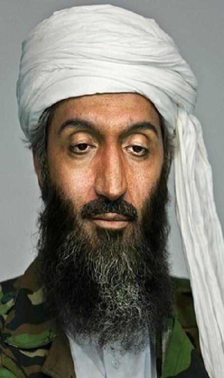 امیر مهدی ژوله در نقش بن لادن در فیلم ملاقات با جادوگر