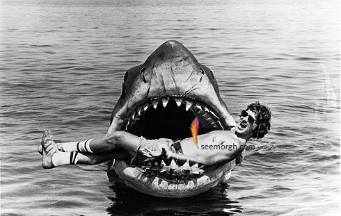 کوسه ساختگی در فیلم آرواره ها Jaws