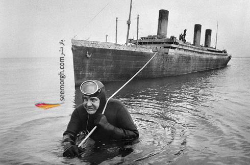 پشت صحنه ی دیدنی فیلم Raise The Titanic
