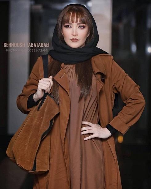 بهنوش طباطبایی در اکران فیلم ماجرای نیمروز در تهران