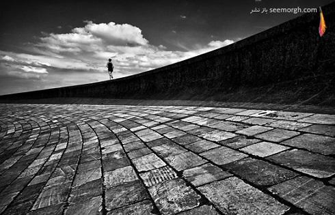 عکاسی سیاه و سفید از سوژه
