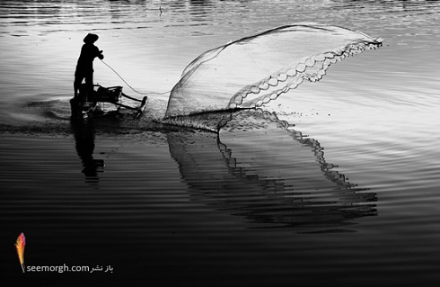 عکس سیاه و سفید تاثیرگذار