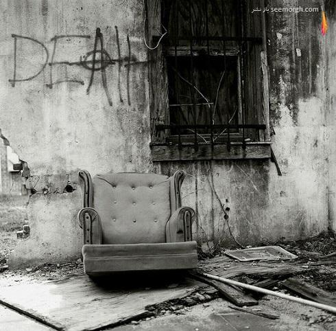 عکس مفهمومی سیاه و سفید