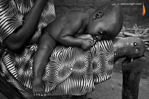 عکس تاثیرگذار سیاه و سفید