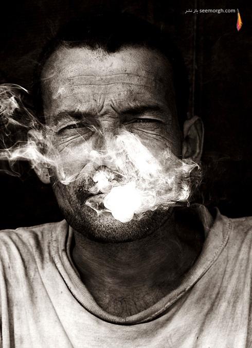 عکس زیبای مفهومی سیاه و سفید