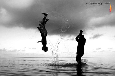 عکس های مفهومی سیاه و سفید