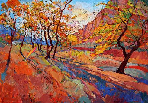 سبک مدرن در نقاشی طبیعت