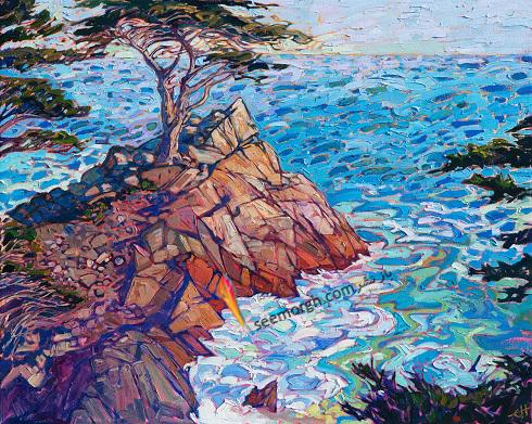 آشنایی با نقاشی رنگ روغن ارین هانسون