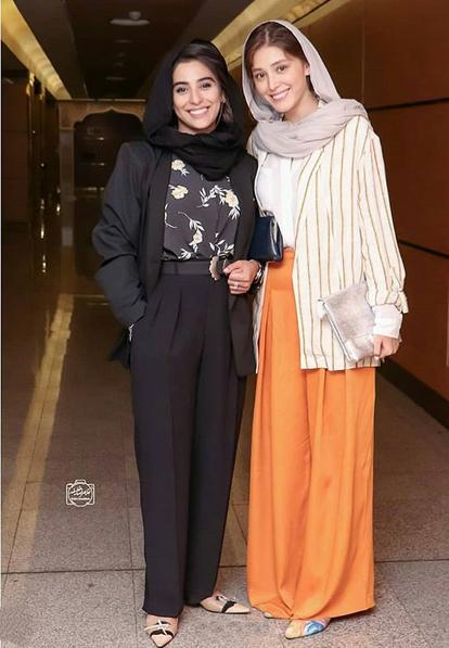 مدل مانتو,مدل مانتو در جشن خانه سینما,مدل مانتو آناهیتا افشار در بیست و یکمین جشن خانه سینما