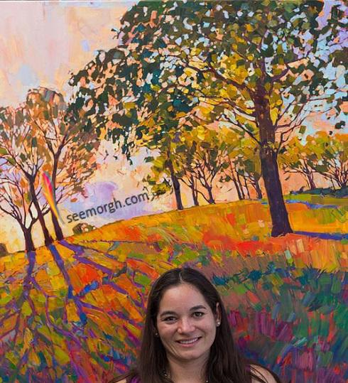 ارین هانسن هنرمند جوان امریکایی