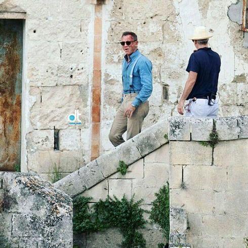 جیمز باند,چهره خونین جیمز باند,پشت صحنه فیلم جیمز باند