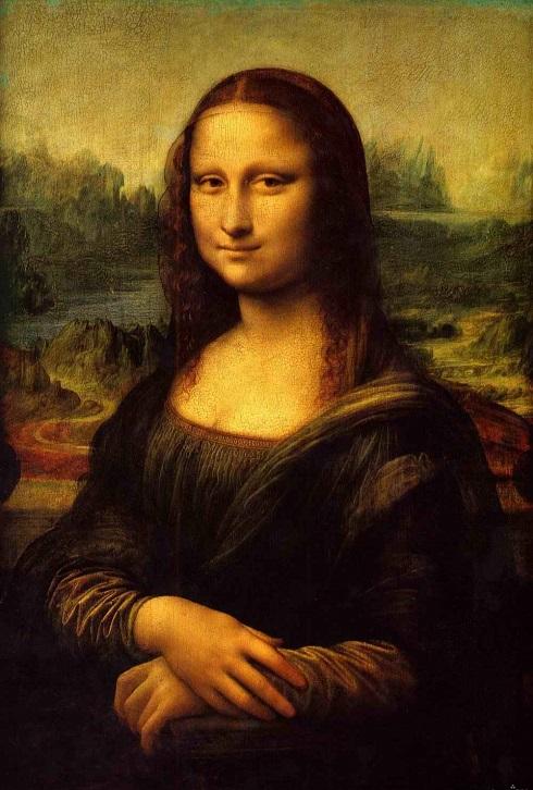تابلوی نقاشی لبخند ژکوند