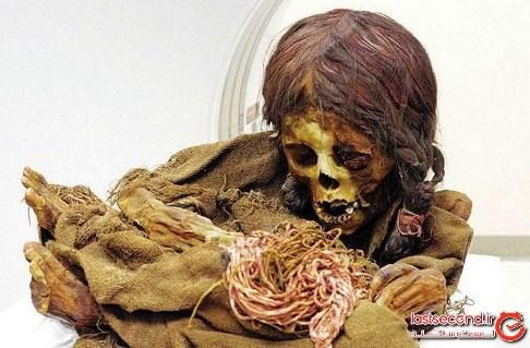 مومیایی,مومیایی 500 ساله,مومیایی دخترک,مومیایی اینکایی,بولیوی