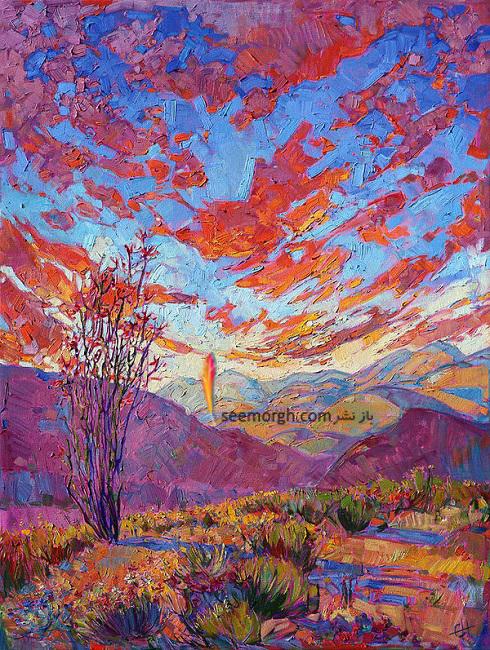 مروری بر نقاشی های ارین هانسون