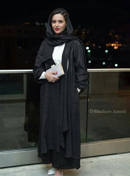 مدل مانتو,مدل مانتو در جشن خانه سینما,مدل مانتو پریناز ایزدیار در بیست و یکمین جشن خانه سینما