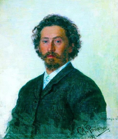 پرتره ایلیا رپین استاد برجسته نقاشی